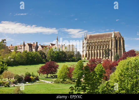 Lancing College Chapel. - Stock Photo