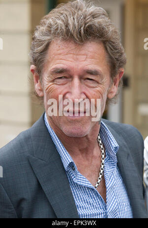 Rust, Germany - May 4, 2015: Eagles Charity Golf Cup and Gala at Golfclub Breisgau and Europa Park, Rust with Singer - Stock Photo