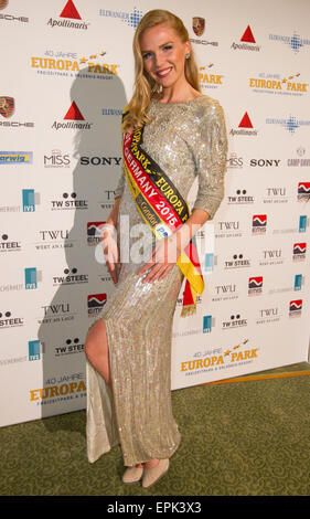 Rust, Germany - May 4, 2015: Eagles Charity Golf Cup and Gala at Golfclub Breisgau and Europa Park, Rust with Miss - Stock Photo