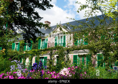 Claude Monet House in Giverny departement eure france europe - Stock Photo