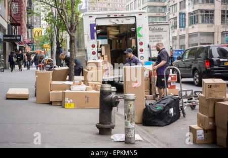 Christmas Shopping In New York Packages
