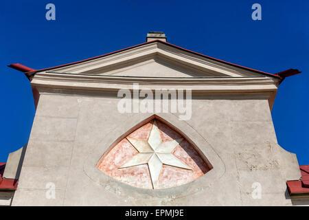 Pilgrimage church of St. John of Nepomuk, Zelena Hora, Zdar Nad Sazavou, Moravia, UNESCO world heritage site, Czech - Stock Photo