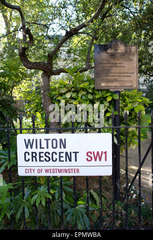 Wilton Crescent Garden The Grosvenor Estate Belgravia London