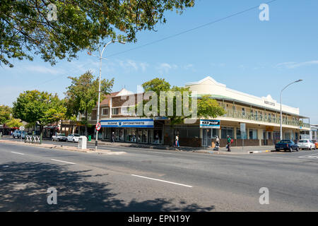 Main Street, Somerset West, Helderberg District, Cape Peninsula, Western Cape Province, Republic of South Africa - Stock Photo