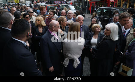 London,UK, 19th May 2015 : A hosts of celebrities and vip's guests attends the Shooting Stars. The late Doug McKenzie. - Stock Photo