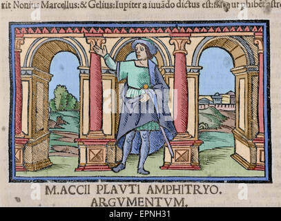 plautus roman playwright Titus maccius plautus, better known simply as plautus (actually a nickname meaning 'flatfoot'), was, between c 205 and 184 bce, a roman writer.