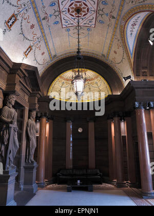 City Chambers interior George Square Glasgow Scotland UK - Stock Photo