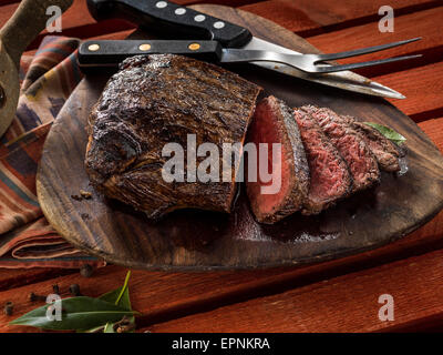 Caribbean steak - Stock Photo