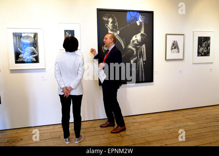 London, UK. 20th May, 2015. Over 70 galleries show work as part of the first Photo London Credit:  Rachel Megawhat/Alamy - Stock Photo