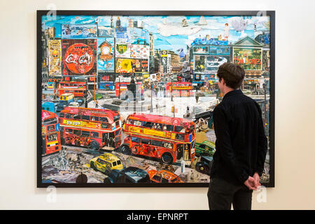 London, UK. 20 May 2015. Press preview of the art fair 'Photo London' at Somerset House. The fair is open to the - Stock Photo