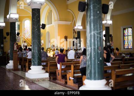 Guadalupe Church, Granada, Nicaragua - Stock Photo