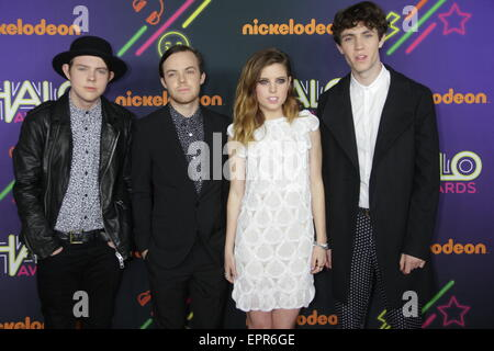Nickelodeon HALO Awards at Pier 36 in New York City  Featuring: Echosmith Where: New York City, New York, United - Stock Photo