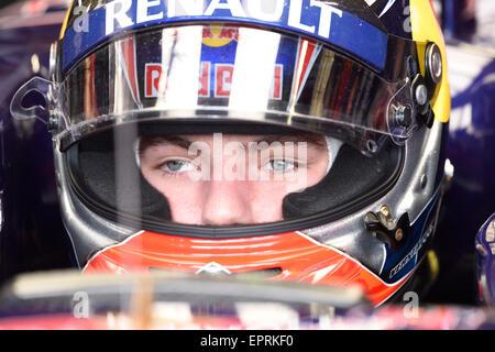 Monte Carlo, Monaco. 21st May, 2015. Max Verstappen, Scuderia Toro Rosso, Formula 1 2015, Grand Prix of Monaco, - Stock Photo