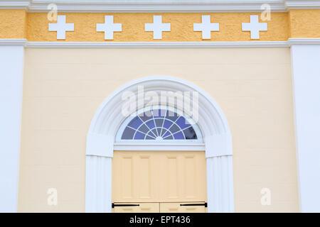 St. Martin De Tours Church, Martinville, Louisiana, USA - Stock Photo
