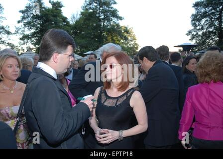 Washington DC., USA, 26th April 2006  Maureen Dowd of the 'New York Times' at the annual White Correspondents Dinner - Stock Photo