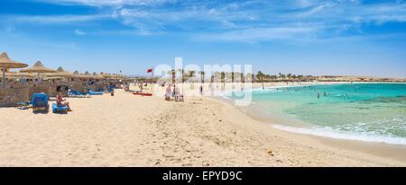 Marsa Alam Beach, Red Sea, Egypt - Stock Photo