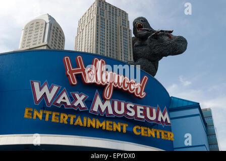 Hollywood Wax Museum Myrtle Beach SC USA - Stock Photo