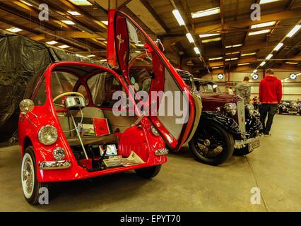 a bmw bubble car at the classic car show boconnoc estate. Black Bedroom Furniture Sets. Home Design Ideas