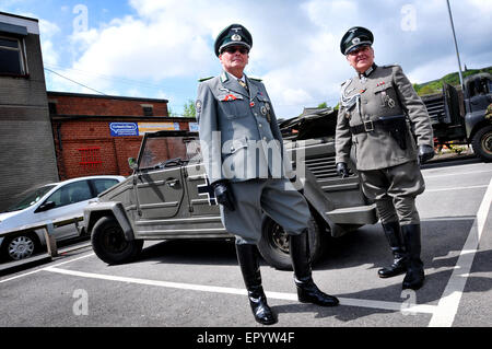 East Lancashire Railway annual 1940's weekend at Ramsbottom Station. - Stock Photo