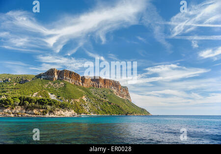 Calanques near Cassis in France - Stock Photo