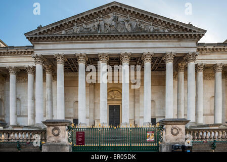 The Fitzwilliam Museum is the art and antiquities museum of the University of Cambridge - Stock Photo