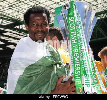 Glasgow, Scotland. 24th May, 2015. Scottish Premiership. Celtic versus Inverness CT. Efe Ambrose Credit:  Action - Stock Photo