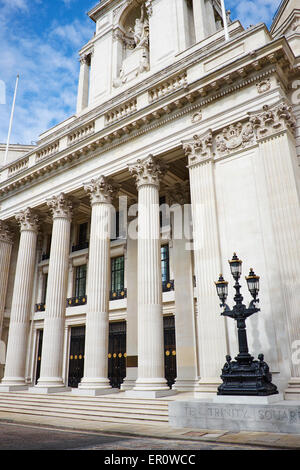 Ten Trinity Square Former Headquarters Of The Port Of London Authority Trinity Square City Of London UK - Stock Photo