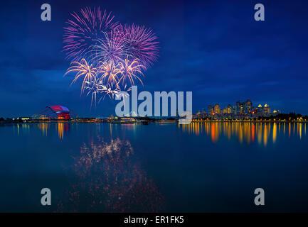 SEA games fireworks - Stock Photo