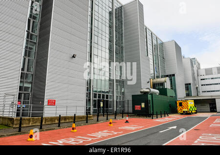 Belfast, Northern Ireland. 25 May 2015 - Accident and Emergency department of the Royal Victoria Hospital. Credit: - Stock Photo