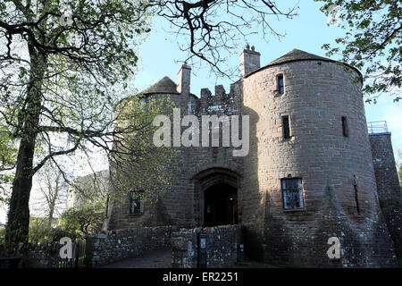 St Briavels Castle now a YHA hostel on edge of the Forest of Dean, in Gloucestershire, England, UK  KATHY DEWITT - Stock Photo