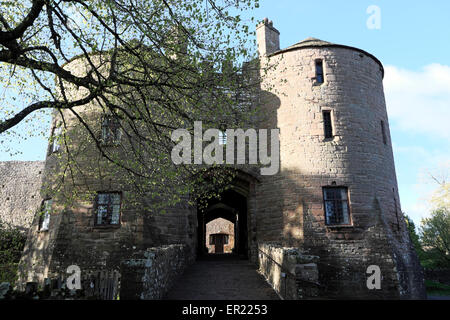 St Briavels Castle now a YHA hostel on edge of the Forest of Dean, Gloucestershire, England, UK  KATHY DEWITT - Stock Photo