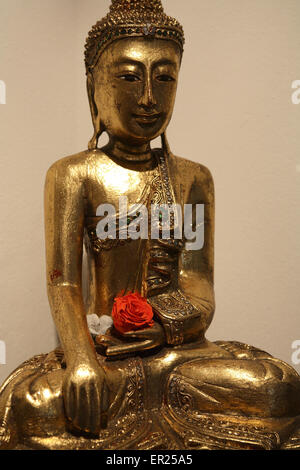 DEU, Germany, Buddha statue.  DEU, Deutschland, Buddha Statue. - Stock Photo