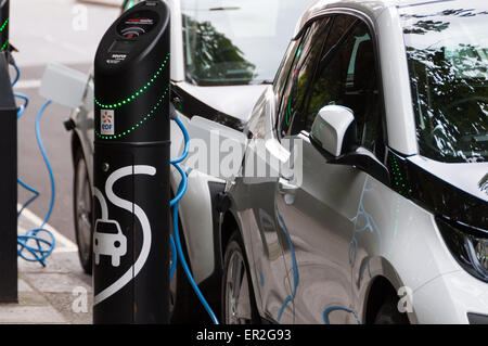 Bmw I Electric Car London Stock Photo Royalty Free Image
