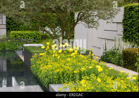 The telegraph garden designed by marcus barnett gold - Chelsea flower show gold medals ...