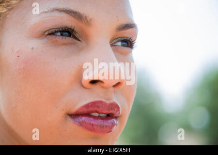 LOS ANGELES, CA – MAY 22: Candice Davis Price is an American hurdler in Los Angeles California on May 22, 2008. - Stock Photo