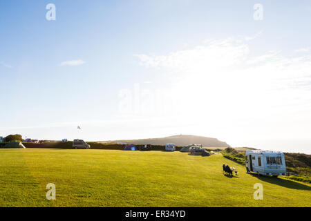 Pembrokeshire, Wales, UK. 24th May, 2015. Beautiful scenery on the Welsh coast. Credit:  Dave Stevenson/Alamy Live - Stock Photo