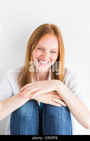 Laughing woman. - Stock Photo