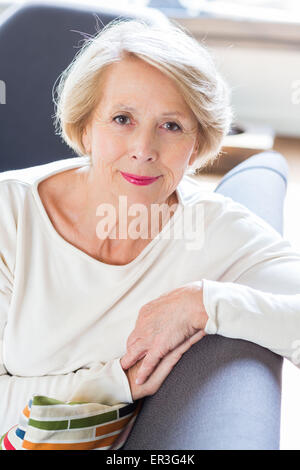 Senior woman portrait. - Stock Photo