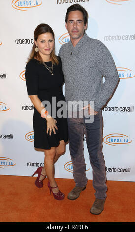 The 12th annual Lupus LA Hollywood Bag Ladies luncheon at The Beverly Hilton Hotel  Featuring: Adam Kaufman,Erin - Stock Photo