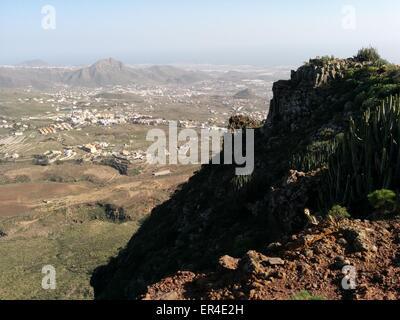 Picturesque landscape of Tenerife - Stock Photo