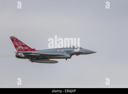 Eurofighter Typhoon FGR4, 29(R) Squadron, RAF Coningsby. - Stock Photo