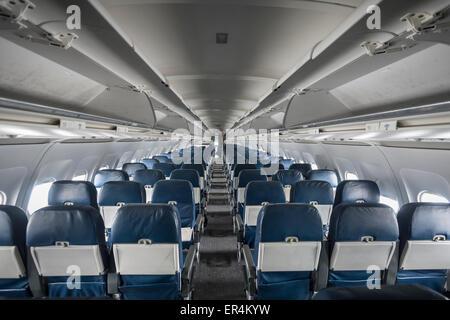 ... Airplane Interior   Stock Photo