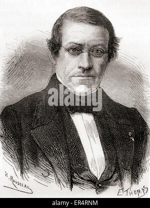 Sir Charles Wheatstone,  1802 – 1875.  English scientist and inventor of the Wheatstone bridge and Playfair cipher. - Stock Photo