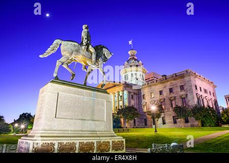 Columbia, South Carolina, USA at the State House. - Stock Photo
