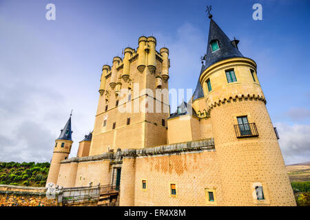 Segovia, Spain at the Alcazar castle. - Stock Photo
