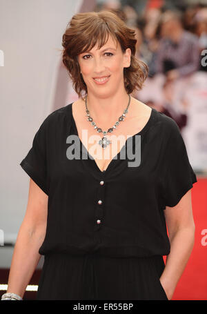 London, UK. 27th May, 2015. Miranda Hart attends the European Premiere of ''Spy'' at Odeon Leciester Square. Credit: - Stock Photo