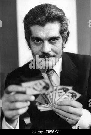 May 27, 2015 - Actor OMAR SHARIF, who starred in Lawrence of Arabia and Doctor Zhivago in the 1960s, has been diagnosed - Stock Photo