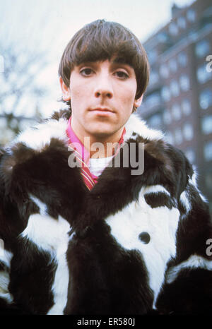 THE WHO UK rock group with Keith Moon on 12 November 1966. The group were recording an open-air live set for German - Stock Photo