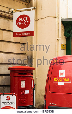 A royal mail post office bureau de change currency exchange stock photo royalty free image - Post office bureau de change rates ...