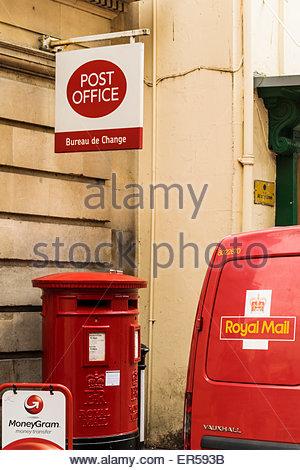 A Royal Mail Post Office Bureau de Change currency ...